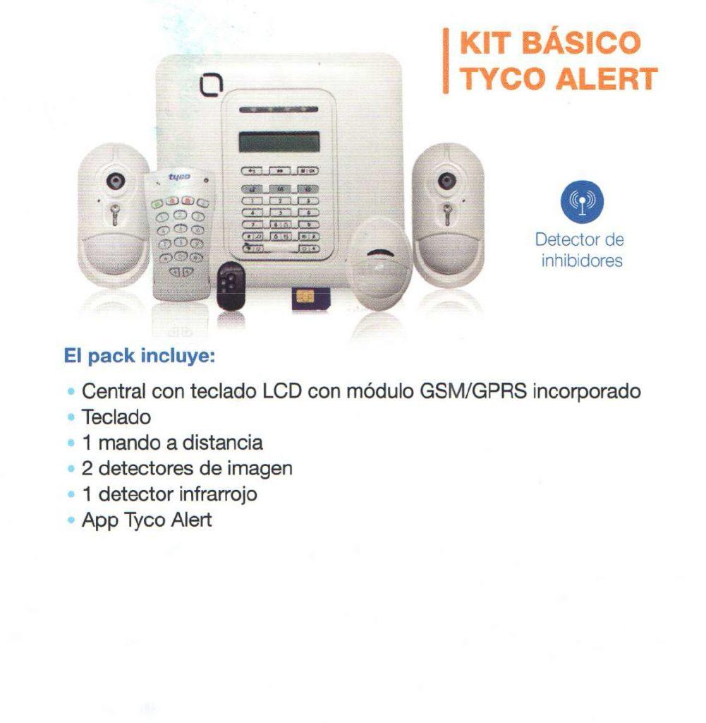kit básico alarma